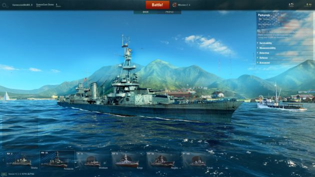 World of Warships premiera