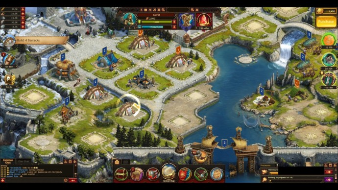 vikings war of clans - miasto