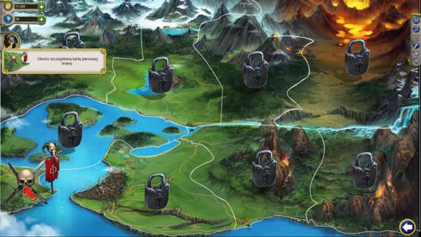dziewięć obszarów w grze battle of beasts