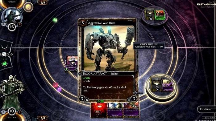 planszowa gra przeglądarkowa hex shards of fate