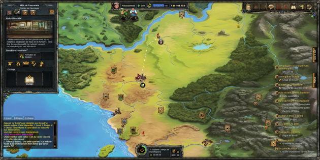 Therian Saga mapa