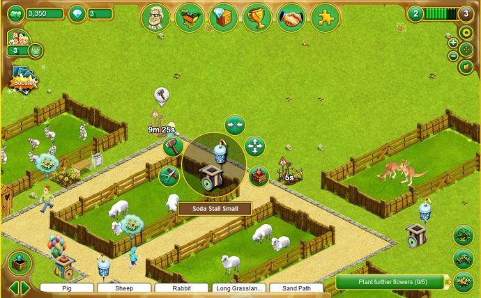 zoo gra przeglądarkowa