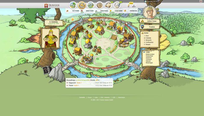 gra przeglądarkowa travian