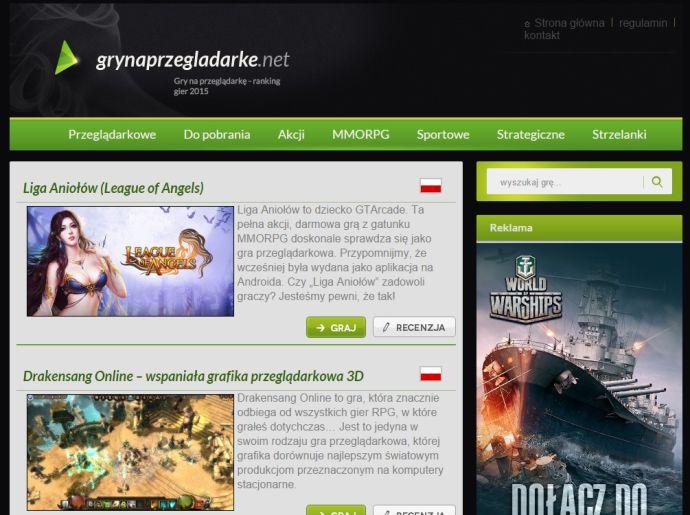 stara wersja strony grynaprzegladarke.net