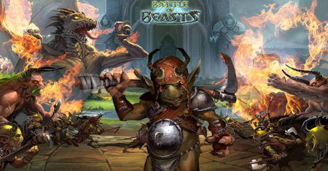 Battle of Beasts przeglądarkowa gra fantasy