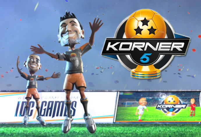 korner 5 piłkarska gra moba