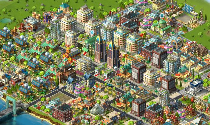 gra o budowaniu miasta na przeglądarce