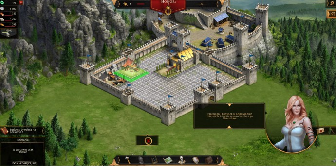 zamek w legend of honor game