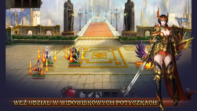 walka turowa w dragon knight