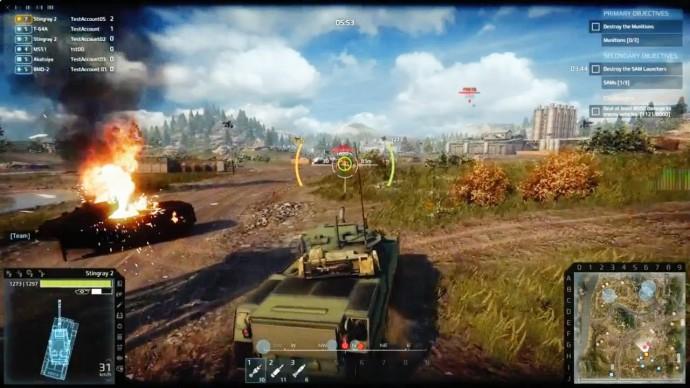 gra o czołgach