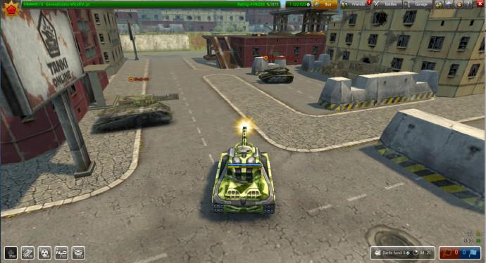 gra czołgi online