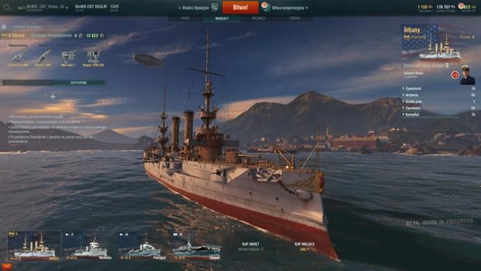 krążownik statek