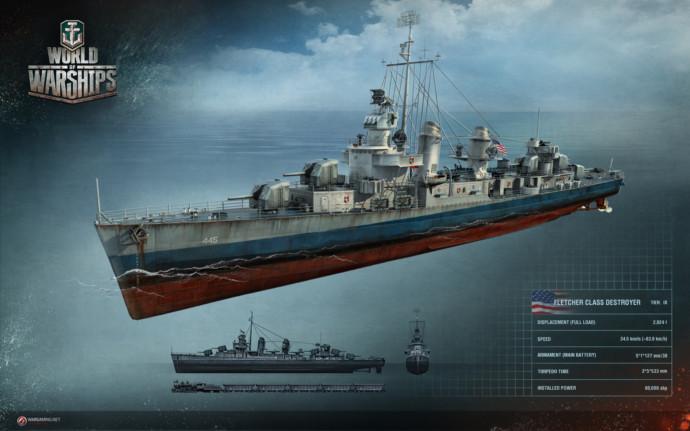 niszczyciel w world of warships