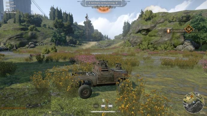 Crossout bitwa samochodów