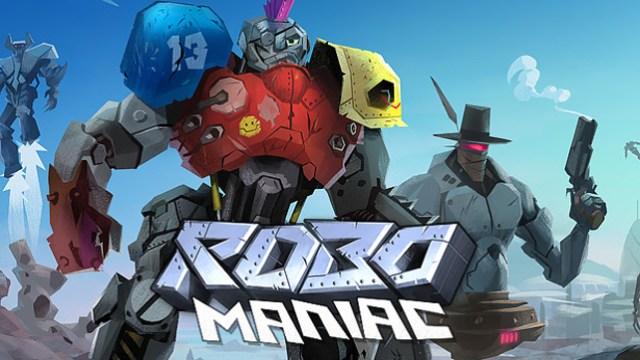 robo maniac - darmowa gra o robotach na przeglądarkę