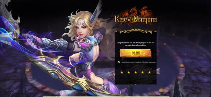gra przeglądarkowa rise of dragons