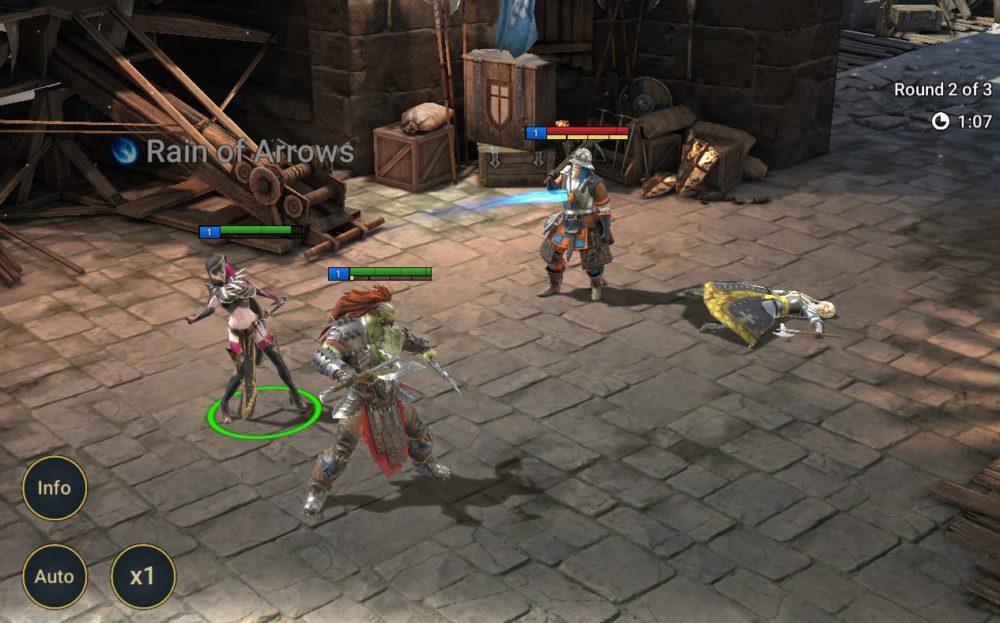 atak łucznika w Raid: Shadow Legends